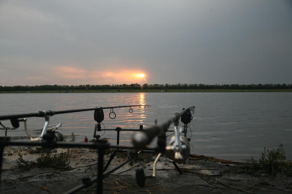 рыбалка в августе на украине